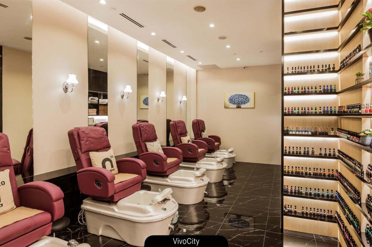 N20 Nail Spa salon - VivoCity. Redefines luxury.